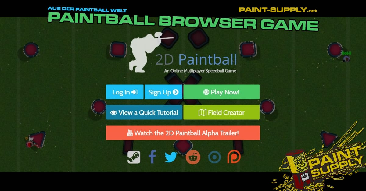 PAINTBALL BROWSER GAME