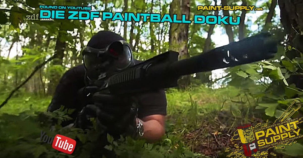 FOUND ON YOUTUBE: DIE ZDF PAINTBALL DOKU