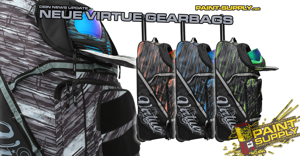 DEIN NEWS UPDATE: NEUE VIRTUE GEARBAGS