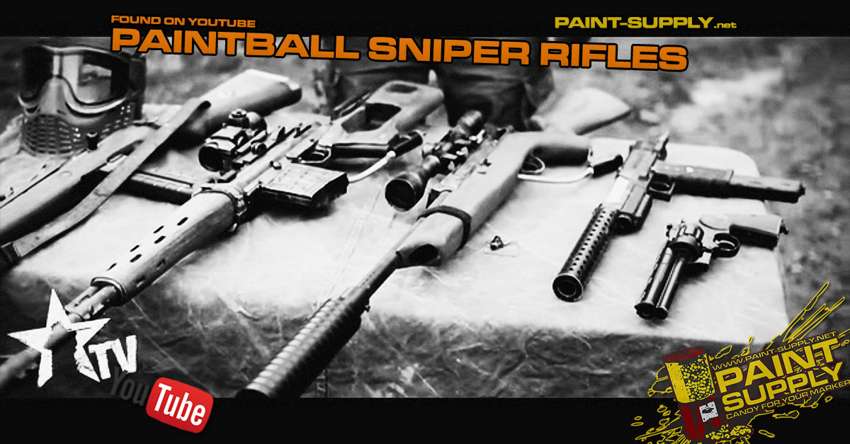 PAINTBALL SNIPER RIFLES