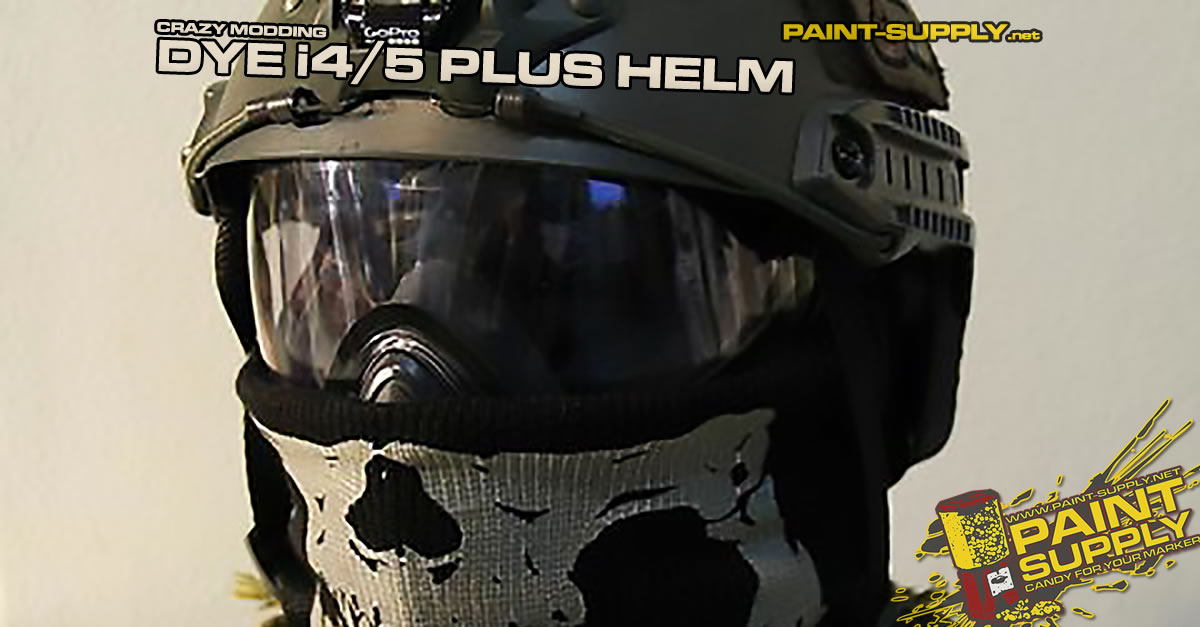 CRAZY MODDING: DYE i4/5 PLUS HELM