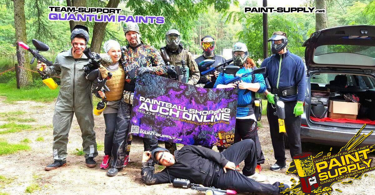 TEAM-SUPPORT: TEAM QUANTUM PAINTS