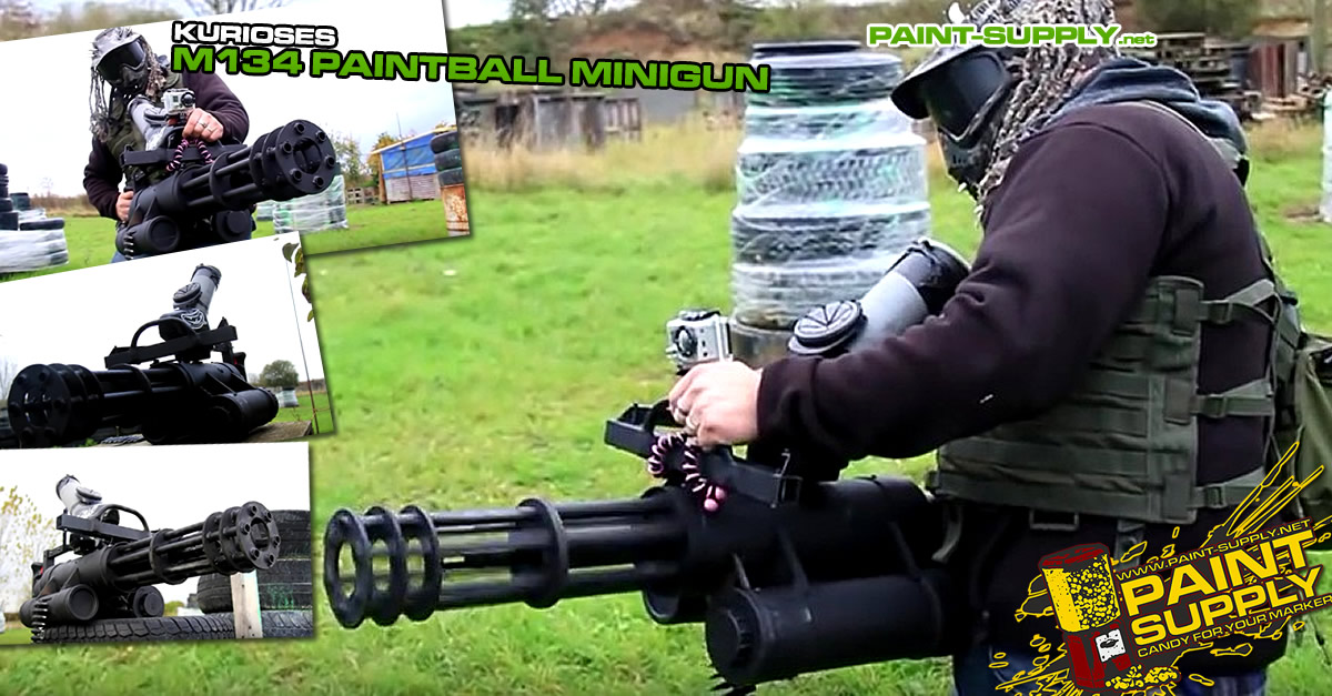 Paint-Supply.net - Paintball Minigun