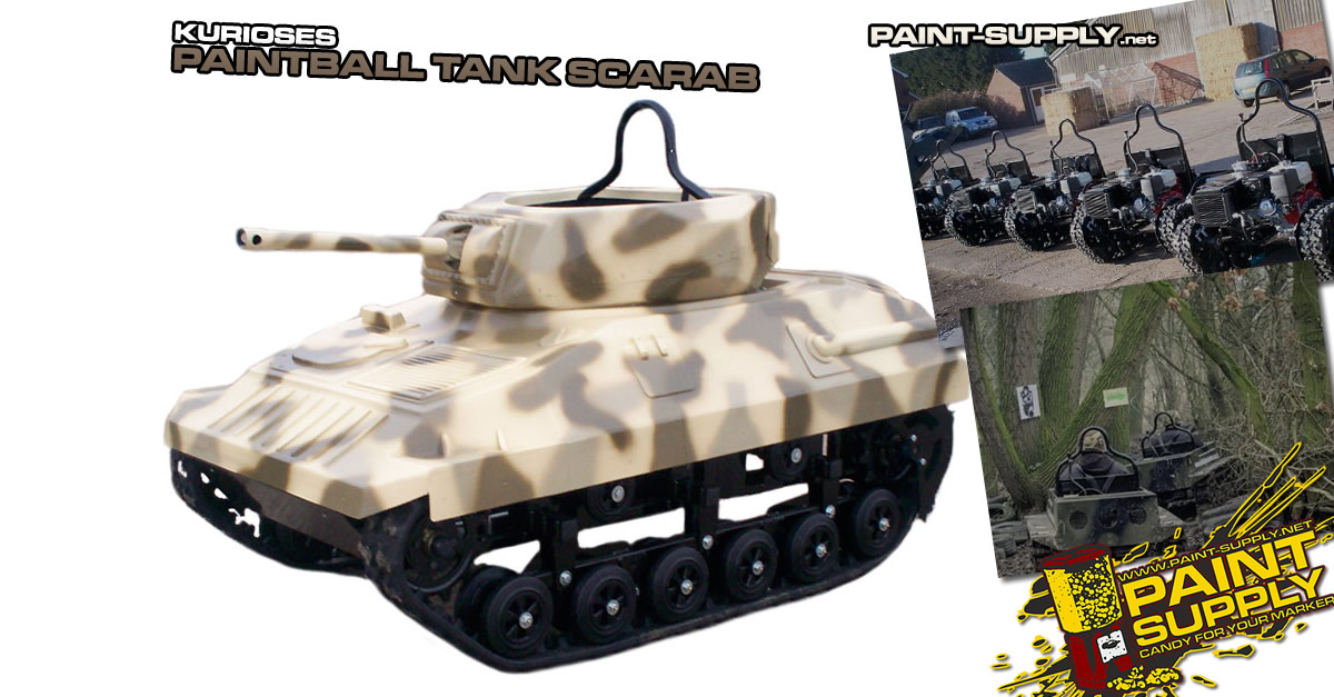 Paint-Supply.net - Paintball Panzer Scarab