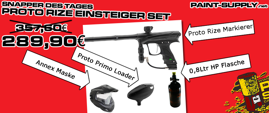 Proto Rize Einsteiger Set bei Paint-Supply.net
